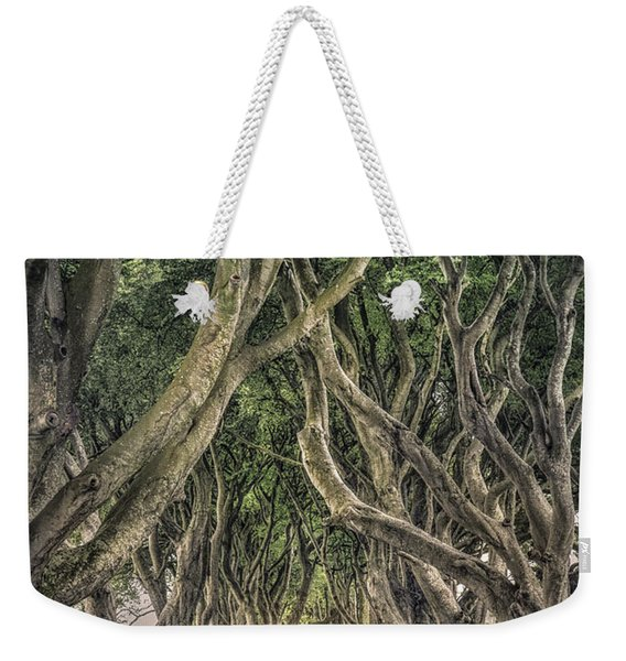 Mysterious Ways Weekender Tote Bag