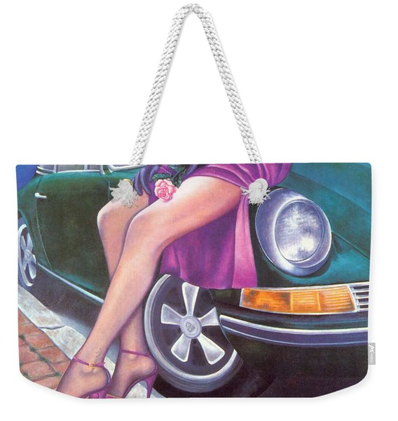 Mystery On Peter's Porsche Weekender Tote Bag