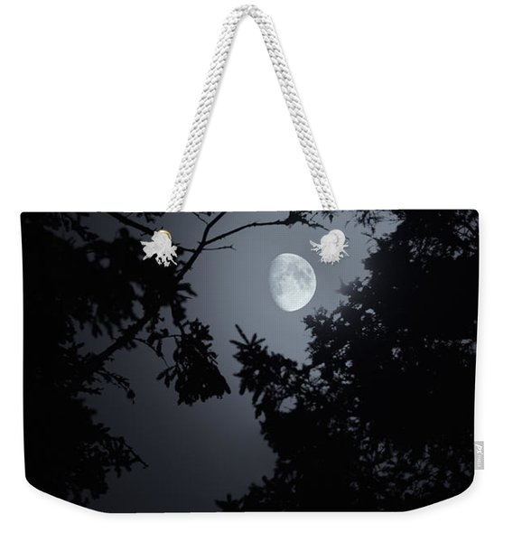 Weekender Tote Bag featuring the photograph Mystic by Doug Gibbons