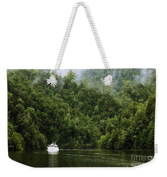 Mystic River Weekender Tote Bag