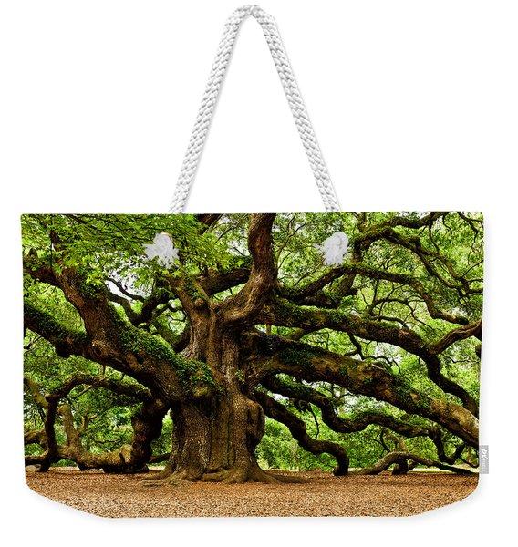 Mystical Angel Oak Tree Weekender Tote Bag