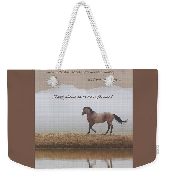Mystical Beauty Inspirational Weekender Tote Bag
