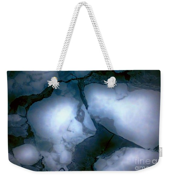Mystical Blue 2 Weekender Tote Bag
