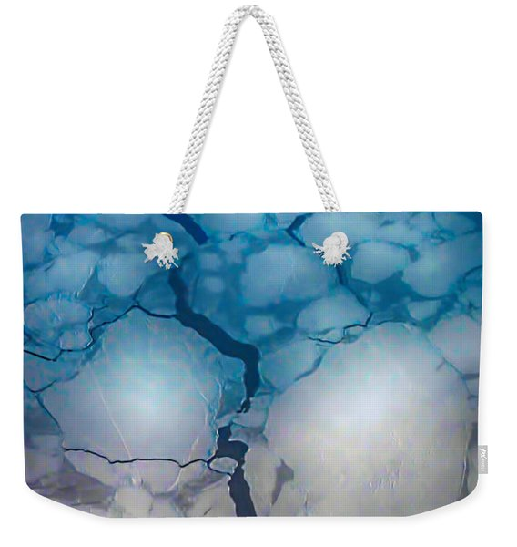 Mystical Blue 4 Weekender Tote Bag