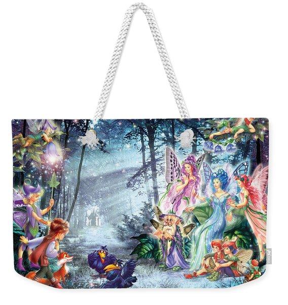 Mystical Meeting  Weekender Tote Bag