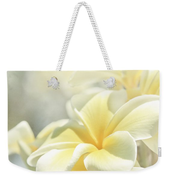 Na Lei Pua Melia Aloha E Ko Lele Weekender Tote Bag