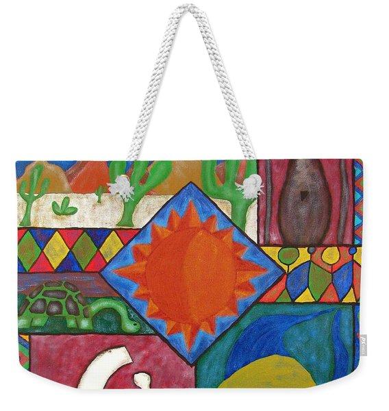 Naive #12 Weekender Tote Bag