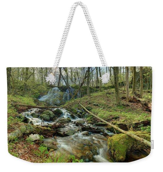 Naked Creek Falls Weekender Tote Bag