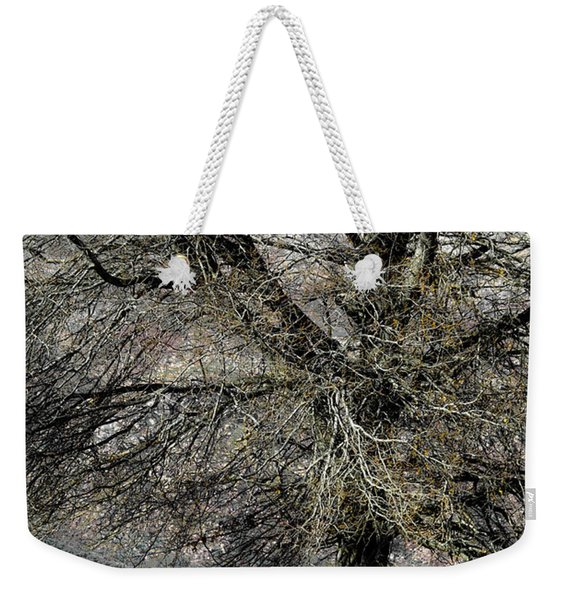 Naked For The Winter Weekender Tote Bag