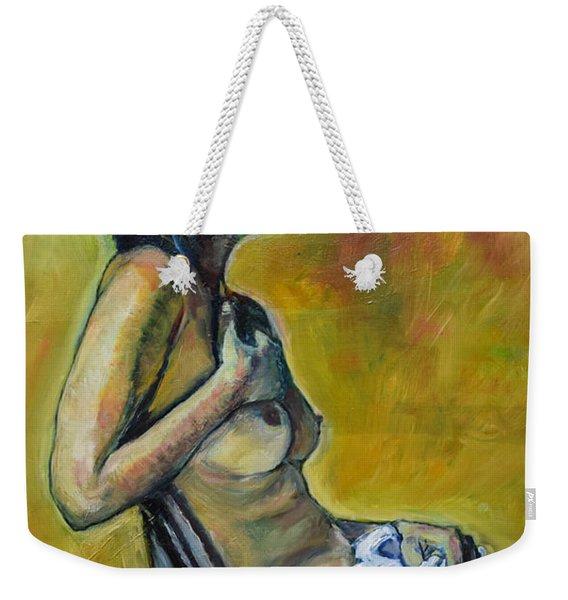 Naked Tellervo 1 Weekender Tote Bag