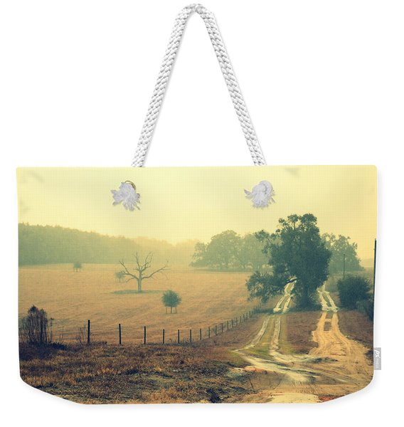 Naked Tree Farm Weekender Tote Bag