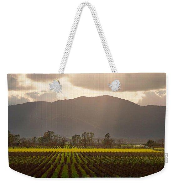 Napa Beauty Weekender Tote Bag