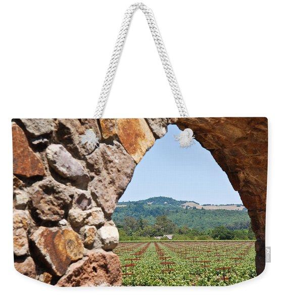 Napa Vineyard Weekender Tote Bag