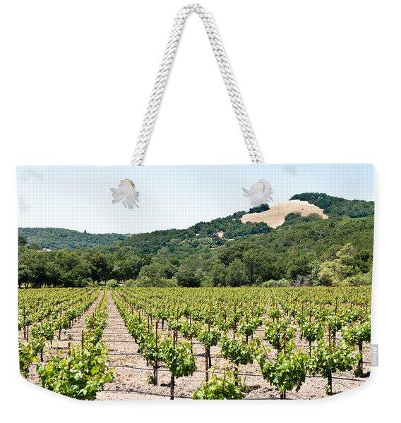 Napa Vineyard With Hills Weekender Tote Bag