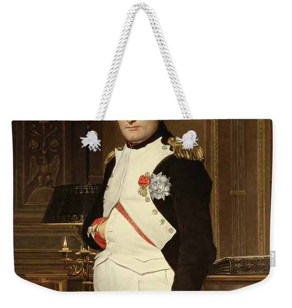 Napoleon Bonaparte In His Study Weekender Tote Bag