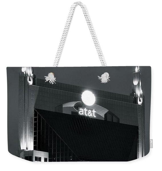 Nashville Batman Building Weekender Tote Bag