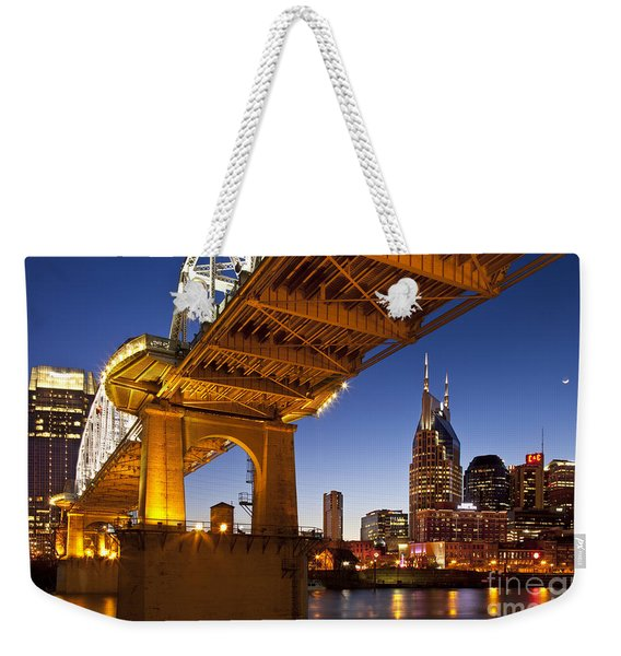 Weekender Tote Bag featuring the photograph Nashville Tennessee by Brian Jannsen