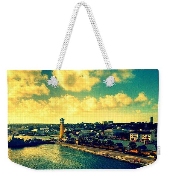 Nassau The Bahamas Weekender Tote Bag