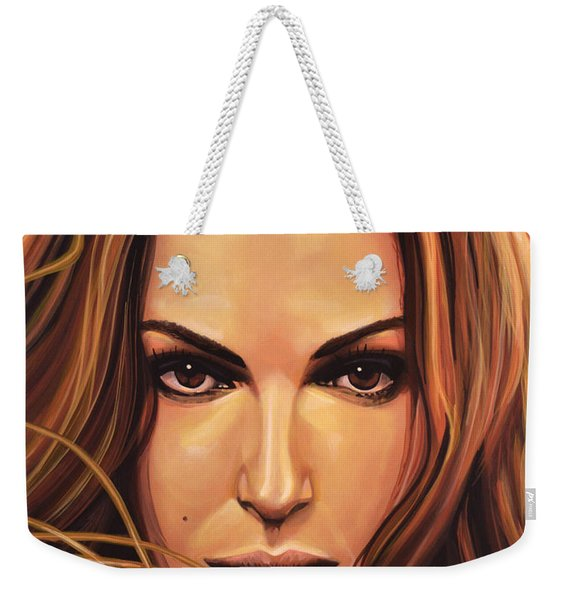 Natalie Portman Weekender Tote Bag