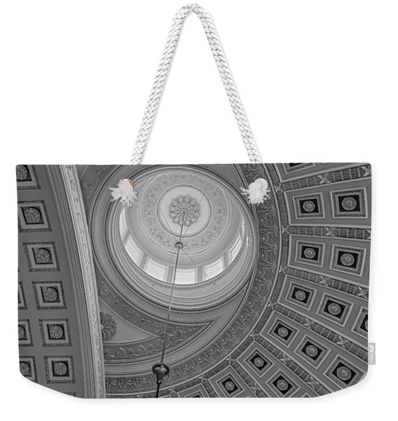 National Statuary Rotunda Bw Weekender Tote Bag