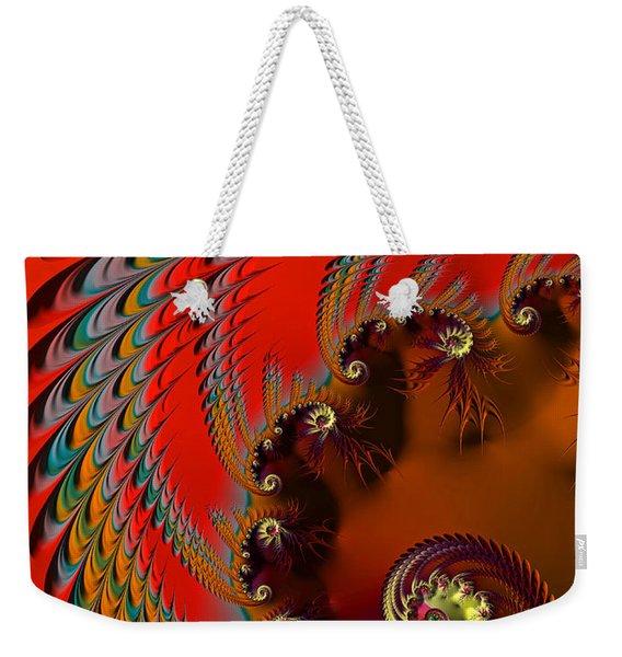 Native American Headdress Weekender Tote Bag