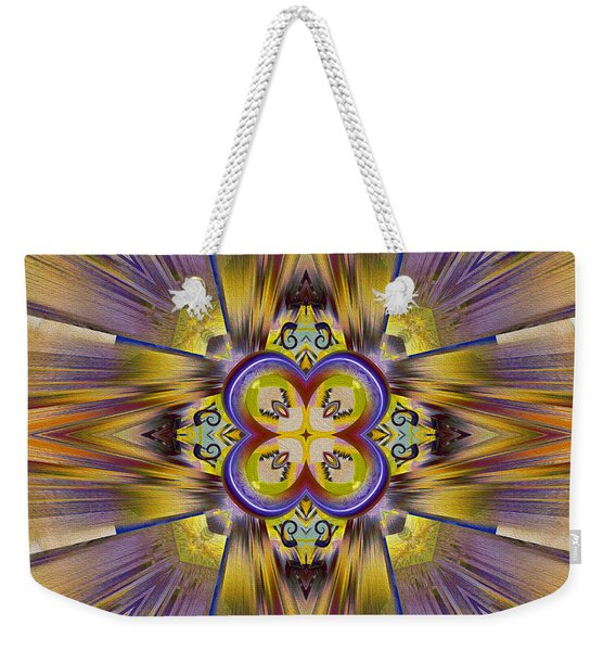 Native American Spirit Weekender Tote Bag