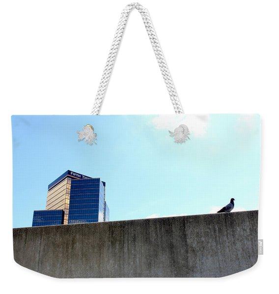 Natural Habitat Industrial Decay Series No 002 Weekender Tote Bag