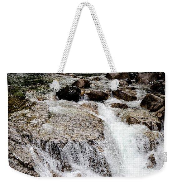 Backroad Waterfall Weekender Tote Bag