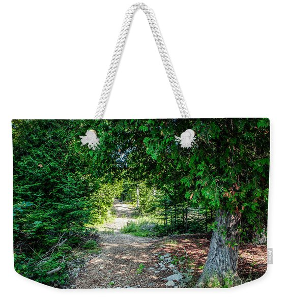 Nature's Arch Weekender Tote Bag