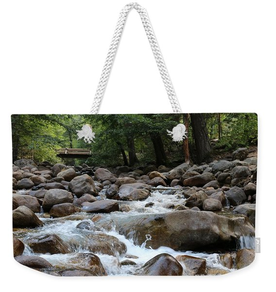 Nature's Flow  Weekender Tote Bag