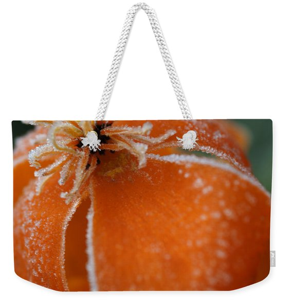 Natures Frost Weekender Tote Bag