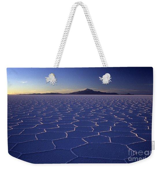 Natures Geometry Salar De Uyuni Weekender Tote Bag