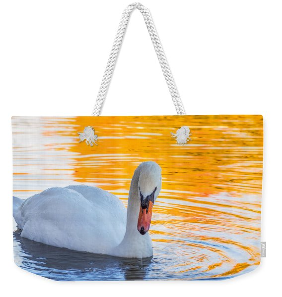 Weekender Tote Bag featuring the photograph Nature's Grace by Garvin Hunter