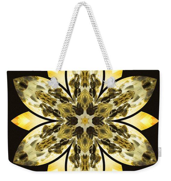 Nature's Mandala 57 Weekender Tote Bag