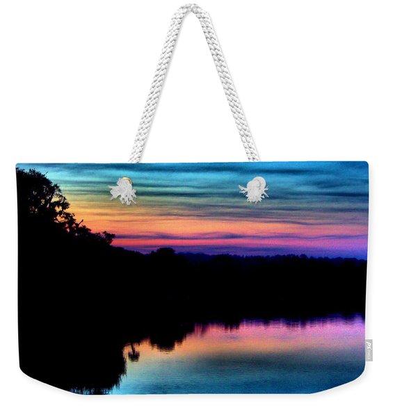 Nature's Rainbow Weekender Tote Bag
