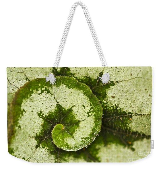 Natures Spiral Weekender Tote Bag