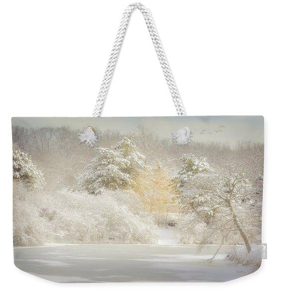 Natures Winter Landscape Weekender Tote Bag