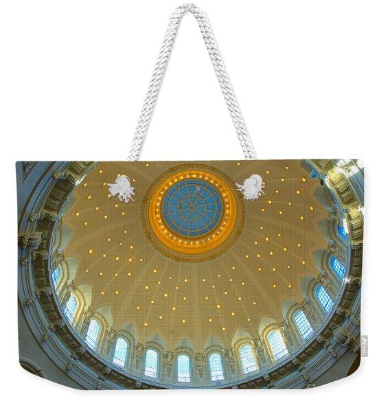 Naval Academy Chapel Side Dome Weekender Tote Bag