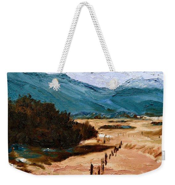 Near La Veta Weekender Tote Bag