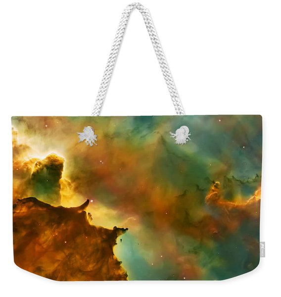 Nebula Cloud Weekender Tote Bag