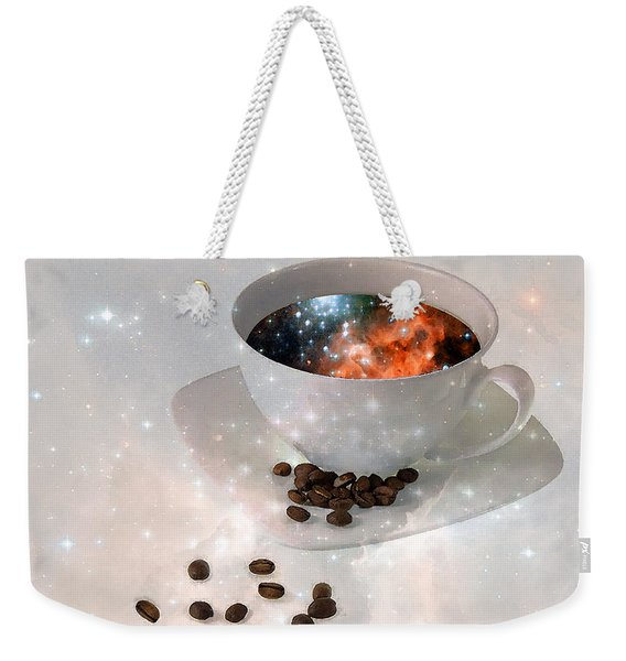 Nectar From Heaven - Coffee Art By Sharon Cummings Weekender Tote Bag