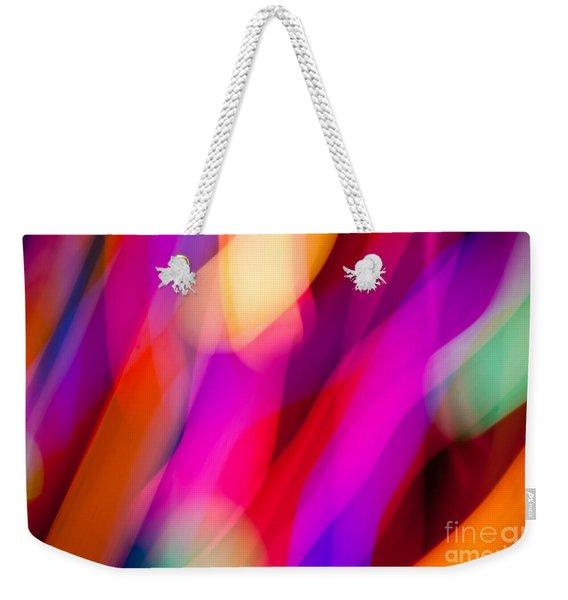 Neon Dance Weekender Tote Bag