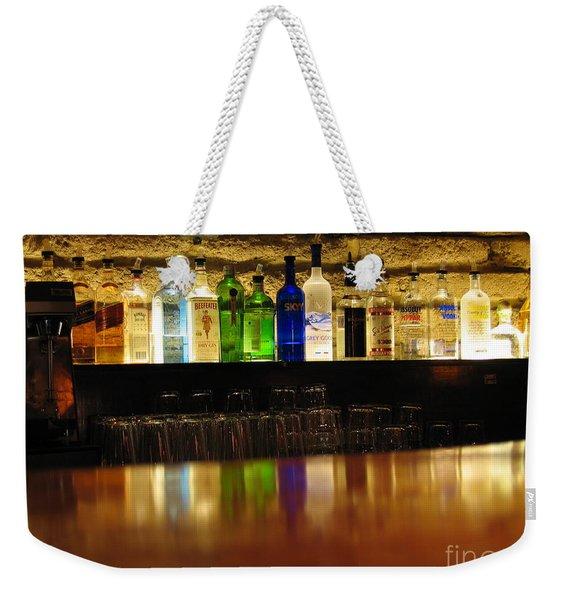 Nepenthe's Bottles Weekender Tote Bag