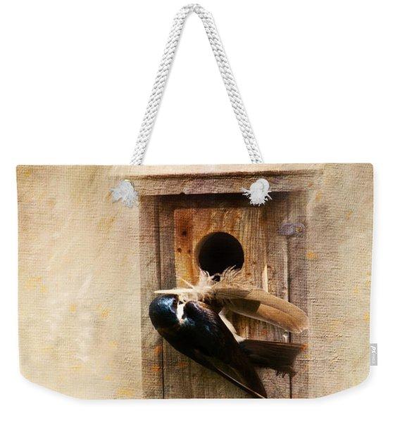 Nest Prepping Weekender Tote Bag