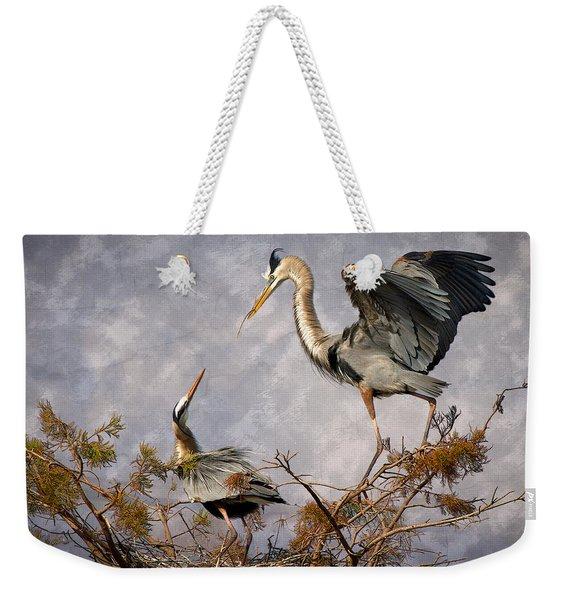 Nesting Time Weekender Tote Bag