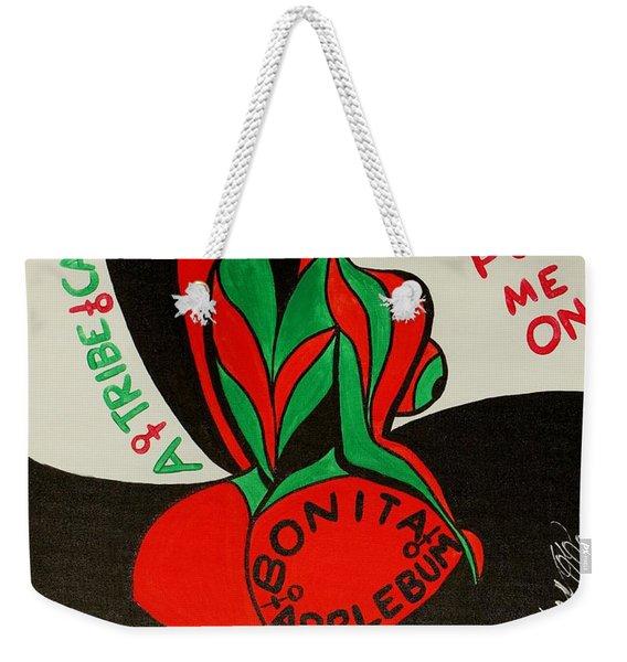 Never A Flaw Bonita Applebum Weekender Tote Bag