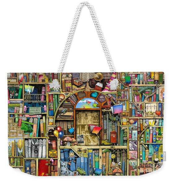 Neverending Stories Weekender Tote Bag