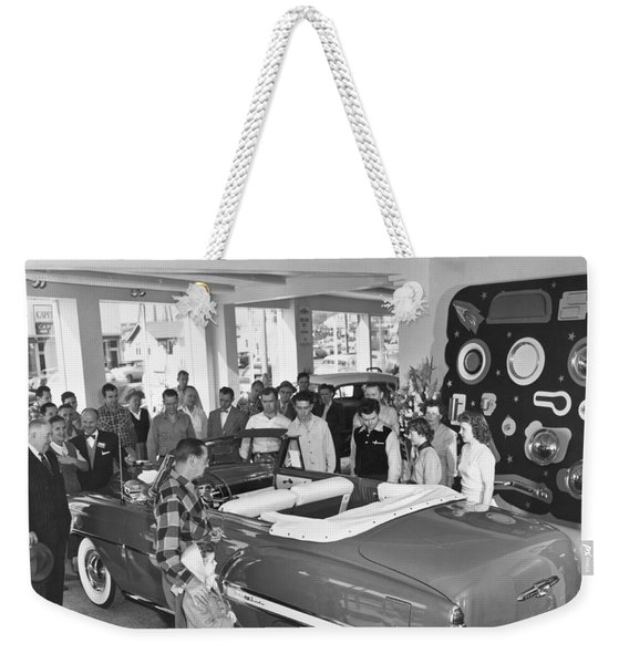 New 1953 Chevrolet Convertible Weekender Tote Bag