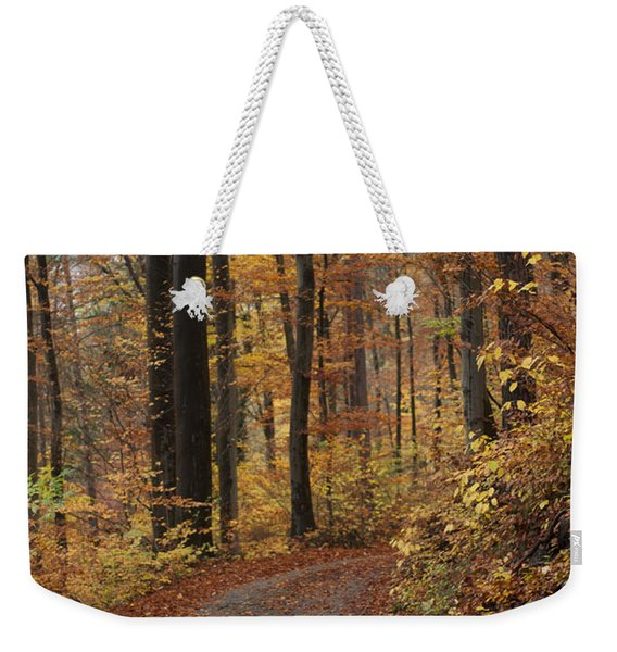New Autumn Trails Weekender Tote Bag