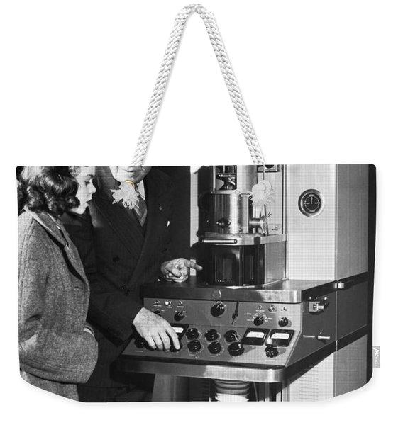 New Electron Microscope Weekender Tote Bag